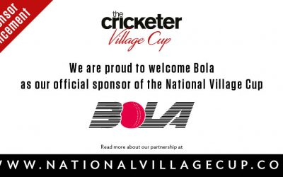 BOLA confirmed as an official partner of The Cricketer Village Cup