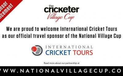 International Cricket Tours confirmed as the official provider of Cricket Club & Supporters Tours to The Cricketer Village Cup