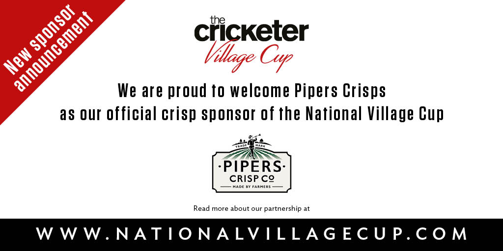 Pipers Crisps Renew Village Cup Sponsorship